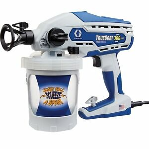 New graco 16y386 truecoat 360 dsp electric airless paint for Paint sprayers for sale