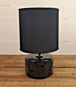 Black-Shade-Honeycomb-Desk-Bedside-Cabinet-Bedroom-Living-Room-Side-Table-Lamp