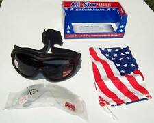 Padded Anti Fog Protective Motorcycle Goggles Kit 2 Lenses Fit Over RX Glasses
