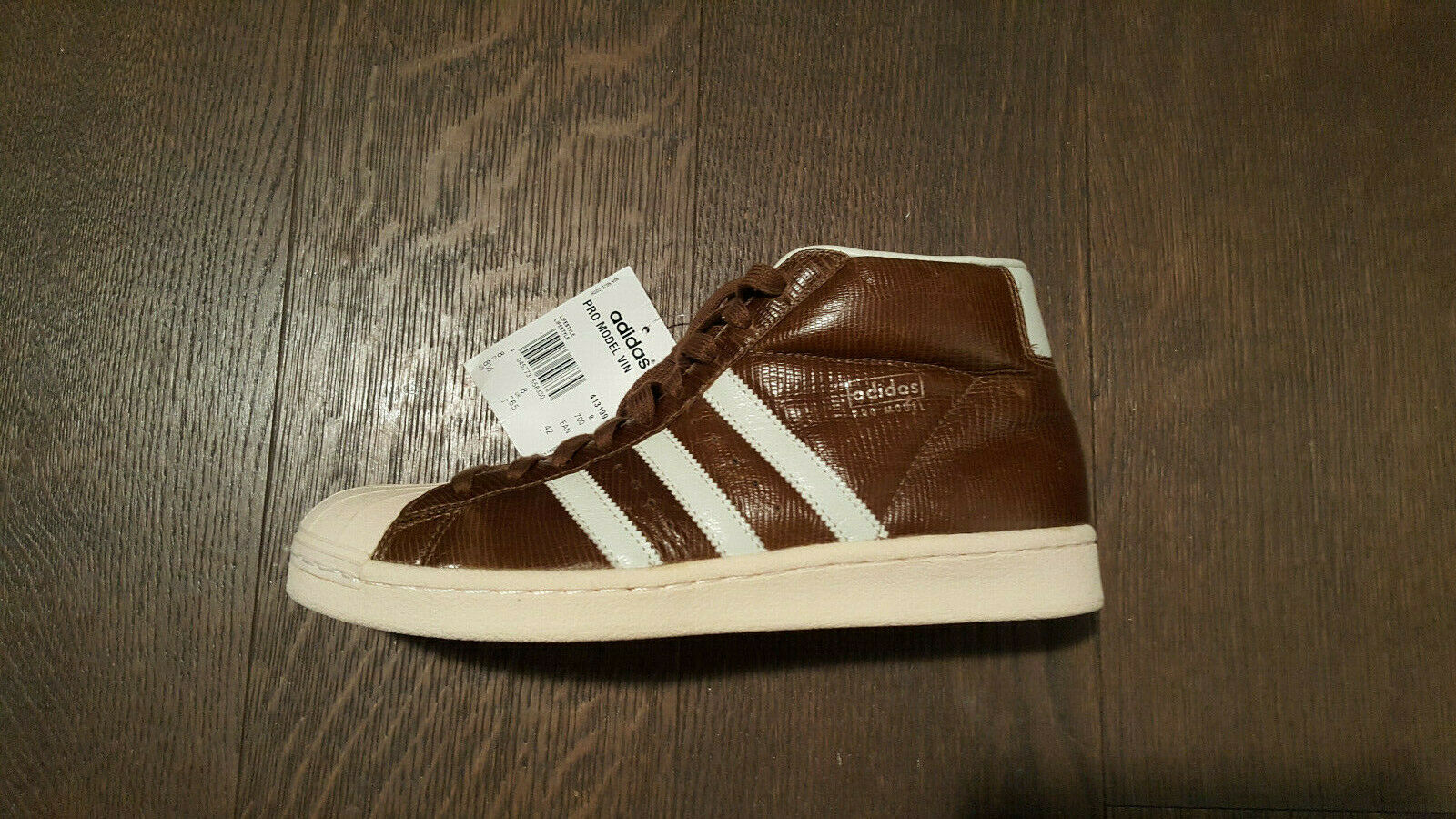 Adidas  Pro Model Vintage  Leather, New with Box, Japan-Model, High-Top, UK 7,5