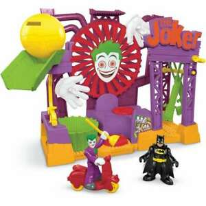 Fisher-Price GBL26 Imaginext DC Super Friends Il Joker Laff FACTORY Playset,