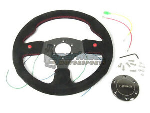 NRG Innovations ST-007S NRG Steering Wheel Two Button Style