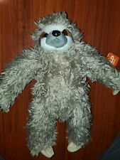 Plush Toy 25879 Pillowkins Fill is Spun Recycled Water Bottles Gift for Kids Stuffed Animal Designed Pillow Wild Republic Sloth