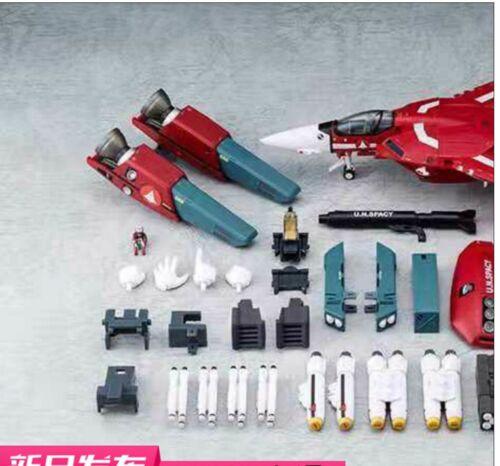 NEW Valkyrie Factory 1//60 Macross VF-1J Milia F Jenius Robotech Red Version KO