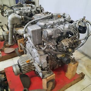 Yanmar 3JH30a Pair inboard marine diesel engine for lifeboat  Used - Ship by sea