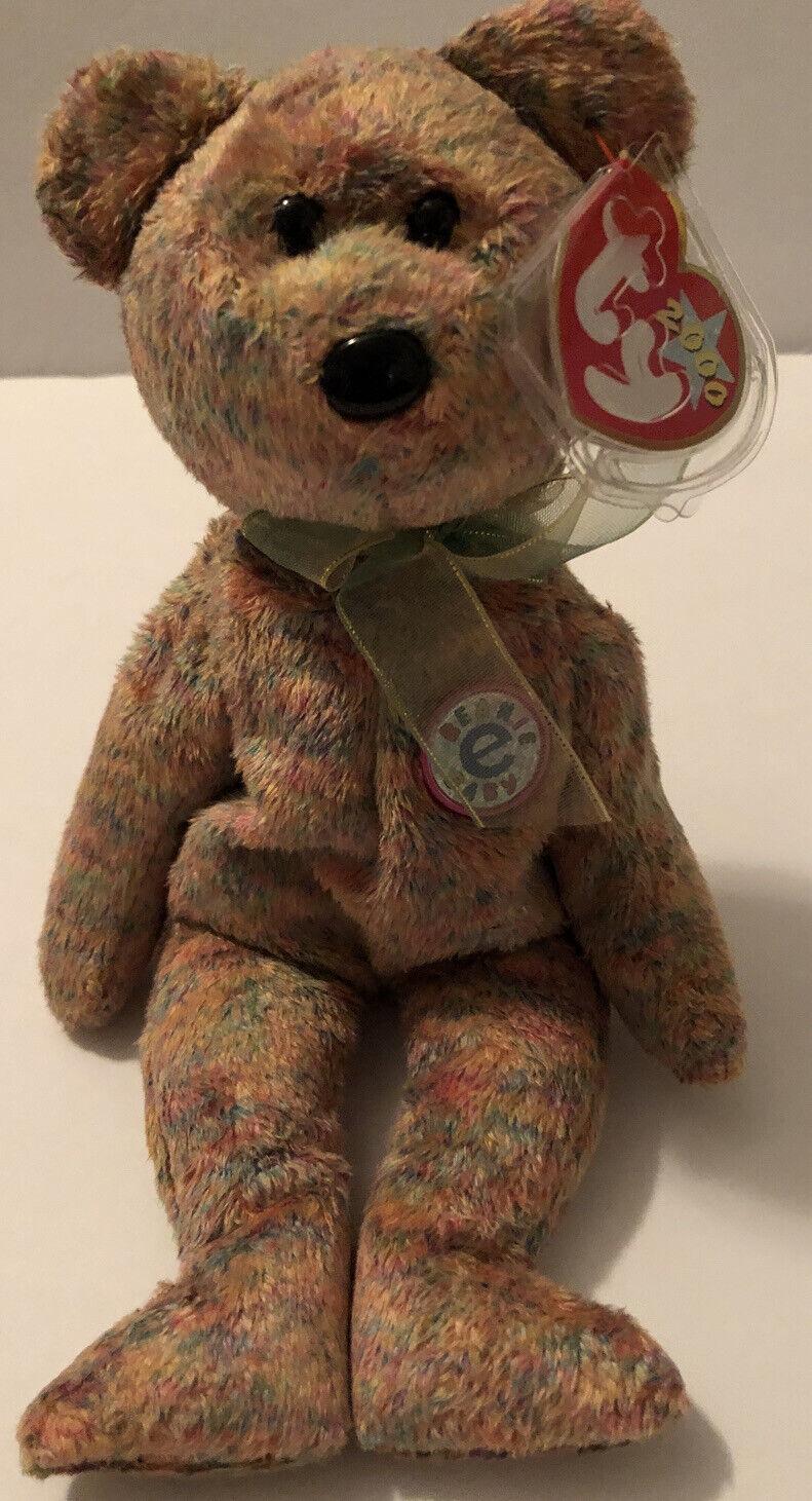 Bear Internet Exclusive 2000 MWMT Ty Beanie Baby Speckles