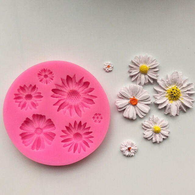 DIY Flower Silicone Mold Fondant Cake Decorating Chocolate Sugarcraft Mould