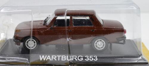 Wartburg 353 escala 1:43 marrón de atlas la-Cast
