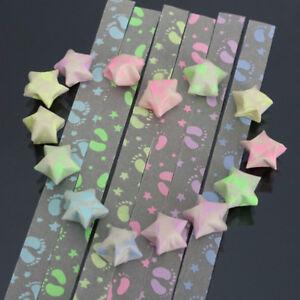 Folded paper strip square