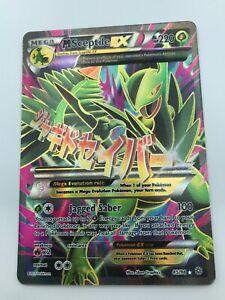 MEGA-Sceptile-EX-FULL-ART-ULTRA-RARE-85-98-XY-Ancient-Origins-Pokemon-NM-2015