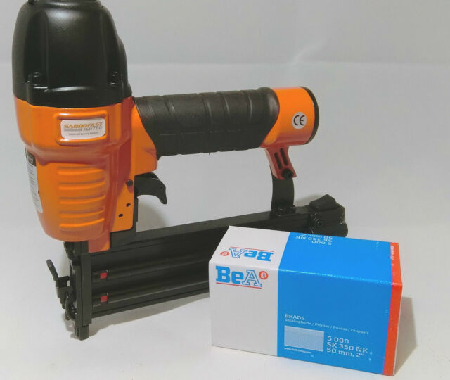 18 GAUGE 50MM BRAD AIR NAILER BY SACROFAST WITH 50MM BRADS