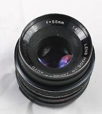 Auto Revuenon 55mm f/2 M42 mount Rare lens