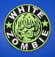 "New Rob White Zombie 'Fluorescent'  3"" Inch Iron on Patch Free Shipping"