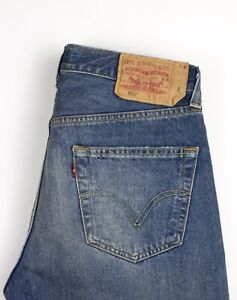 Levi's Strauss & Co Hommes 501 Jeans Jambe Droite Taille W32 L32 ATZ1802