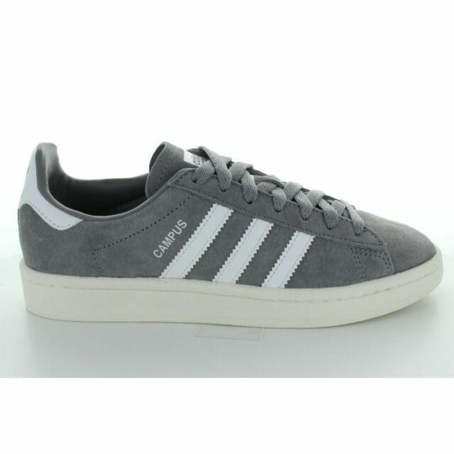 Hommes Trois Gris Campus Blanches 23 44 Baskets Adidas yg6b7f