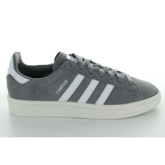 Baskets Campus 23 Trois Adidas 44 Hommes Blanches Gris gmbf6v7yIY