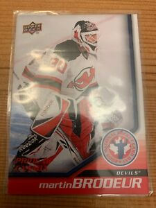 Lot-of-4-Martin-Brodeur-New-Jersey-Devils-Cards-incl-NHL-Hockey-Card-Day-Canada