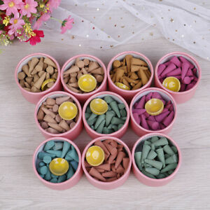 35-Pagode-Blumen-Weihrauch-Kegel-Duft-Rose-Tulpe-Duft-Sandelholz-Gewuerz-TraDE-F