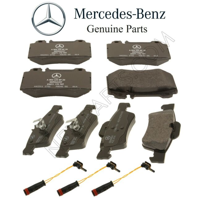 300.00310 Centric 2-Wheel Set Brake Pad Sets Front or Rear New for Mercedes VW