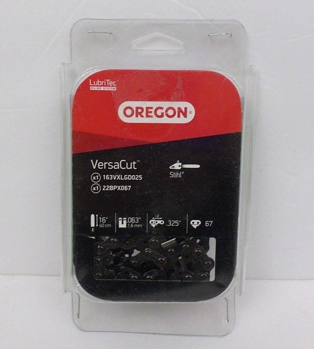 Cadena de Oregon 579775 16  Sierra 0.325  Pitch, 0.063  calibre 67 conteo de enlaces nos DMG Pkg