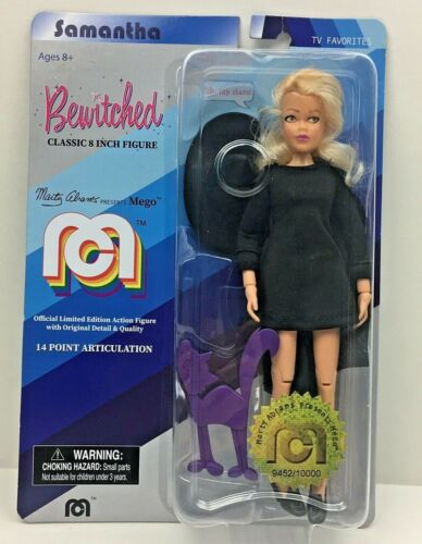 Mego Bewitched Samantha Classic 8 in poupée action figure new in package Neuf sous emballage environ 20.32 cm