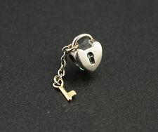 Original Pandora Element Charm 790288 Schlüssel zu meinem Herzen Bicolor UVP:79€