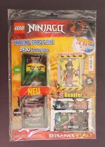 Lego Ninjago série 3 Trading Card Game-Extra-Pack Incl le23 NOUVEAU /& NEUF dans sa boîte