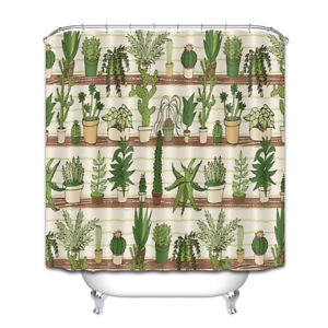 Image Is Loading 72X72 034 Home Plants Succulent Cactus Shower Curtain