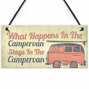 Image is loading Campervan-Camper-Caravan-Motorhome-VW-Gifts-Travel-Holiday-