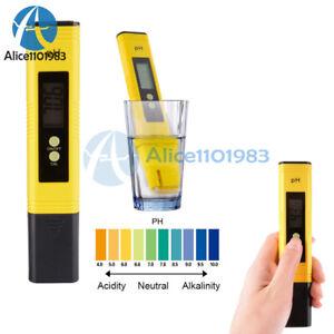 Digital LCD PH Tester Aquarium Pool Water Urine Wine Pen Monitor Protable