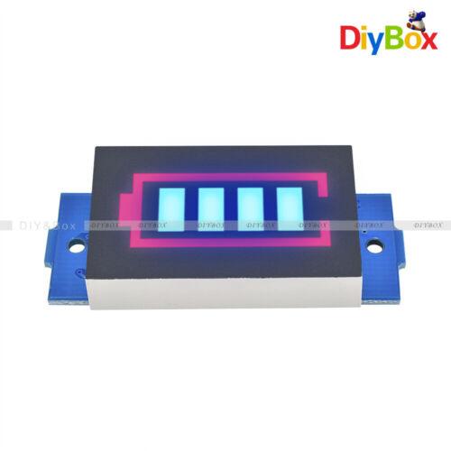 3PCS 3S 12.6V 18650 Li-ion Battery Power Tester Blue Display Indicator Module