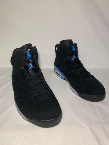 "Air Jordan 6 Retro /""UNC/"" Men/'s Size 17 BLACK//UNIVERSITY BLUE 384664 006"