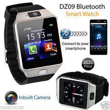 Bluetooth Smart Watch GSM für Android HTC Samsung iPhone iOS Camera SIM Slot NEU