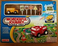 Wonderful Journey Puzzle Trek Enertec Battery Operated Age 3+ New In Box