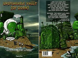 Goomi´s-Cthulh<wbr/>u-Unspeakable Vault of Doom-Vol.2-Lov<wbr/>ecraftian Comic-new-very rare