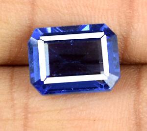 Blue-Tanzanite-VS-Clarity-Gemstone-7-8-Carat-Natural-Octagon-Cut-AGSL-Certified