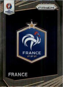 2016 Panini Prizm UEFA Euro '16 Country Logos Prizms #5 Belgium