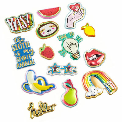 Modern Pop Pizza Patch Stickers By Recollections™ 536169 NEW