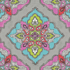 20 Lunch Paper Napkins Kaleidoscope Decoration Decoupage