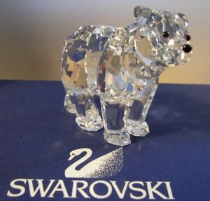 SWAROVSKI-SILVER-CRYSTAL-034-BROTHER-BEAR-034-866407-MINT-IN-BOX-RETIRED-2010