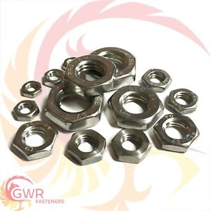 M2-M12 A2 Stainless Steel Spring Washers 2-12mm INT Dia