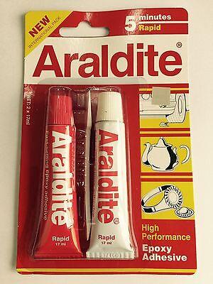 Kleber Uaf5 Produkte Werden Ohne EinschräNkungen Verkauft 1 X Araldite 5 Minute Rapid Ab Epoxy Adhesive High Performance