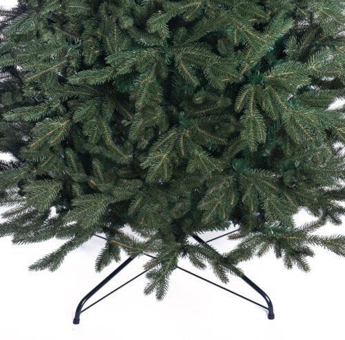 Arbre de Noël Luxe Traditionnel Vert Forêt 2 tailles-Alpine Spruce