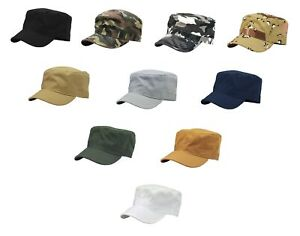 Army-Cadet-Military-Patrol-Castro-Cap-Hat-Golf-Driving-Summer-Baseball-Kbethos