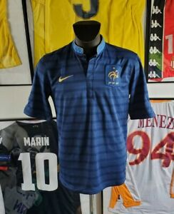 Maillot jersey trikot maglia camiseta shirt camisa France 2012 12 Henry ribery