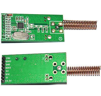 2 pcs CC1101 433Mhz Wireless RF Transceiver Module CC1100 New AA