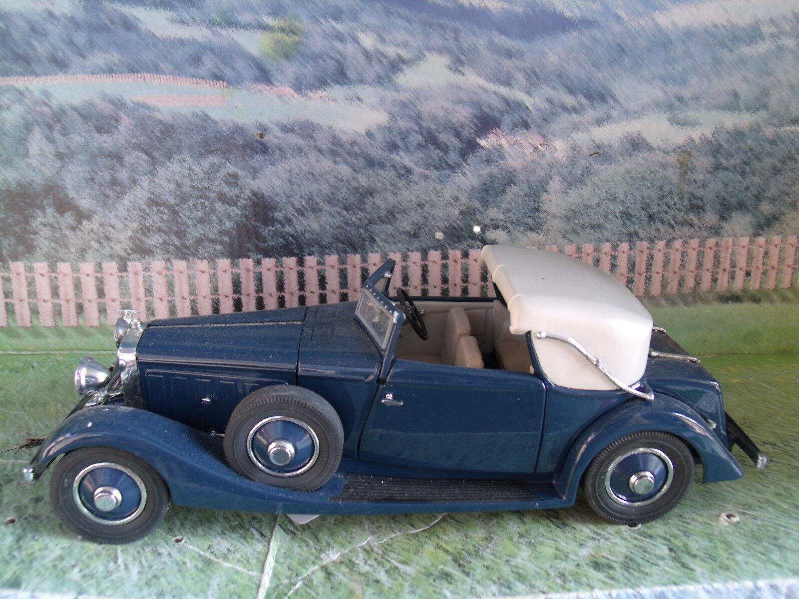 1 24  Danbury Mint 1934 HISPANO-SUIZA J12