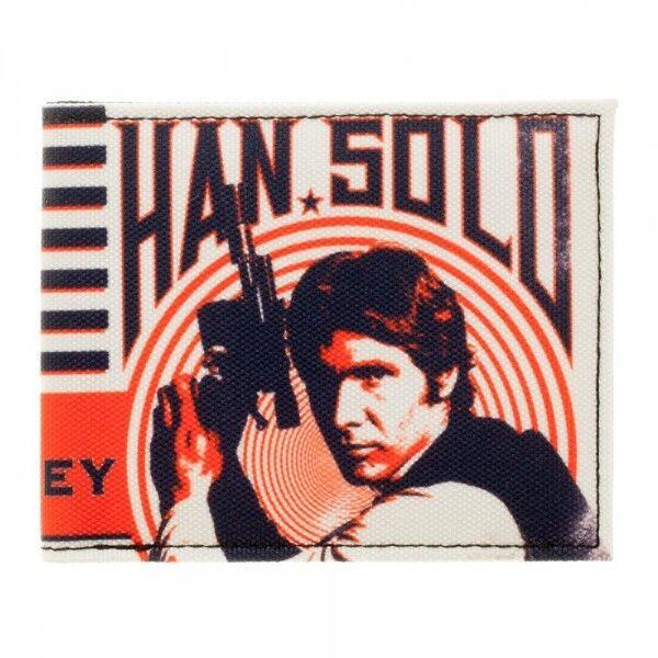 Han solo - star wars bifold brieftasche für das geld der klassischen millennium - falken