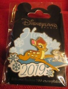 Disneyland-Paris-Ltd-Edition-Pin-700-Winter-Season-2019-Bambi-Pin