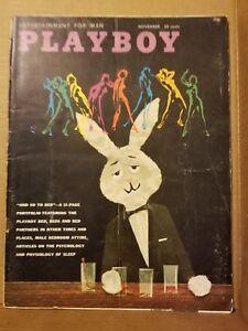 Playboy-November-1959-Good-Condition-Free-Shipping-USA